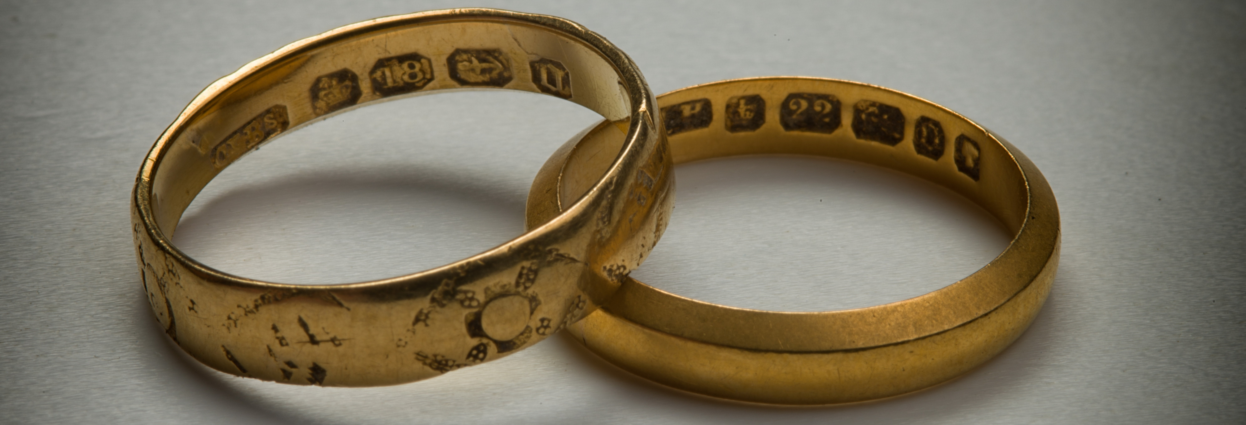 Grace Hutton's wedding rings