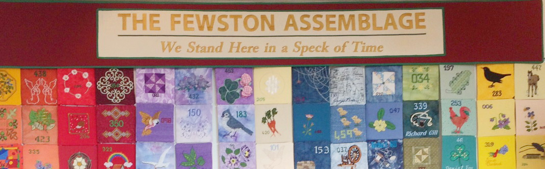 Fewston Assemblage Textile Hanging